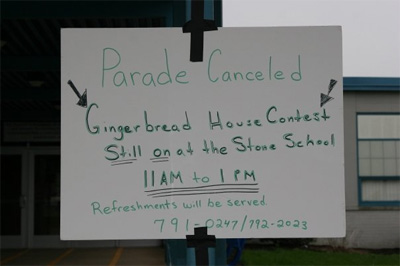 2009 Parade Cancelled
